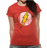 Dc COMICS: Flash (THE): Logo (T-SHIRT Donna )
