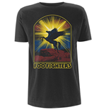 Foo FIGHTERS: Winged Horse (T-SHIRT Unisex )