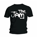 Jam (THE): Spray Logo Black (T-SHIRT Unisex )