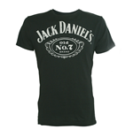 Jack DANIEL'S: Black Old No 7 Logo (T-SHIRT Unisex )