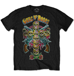 Guns N' ROSES: Skull Cross 80S (T-SHIRT Unisex )