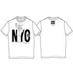 John LENNON: Nyc Power To The People White (T-SHIRT Unisex )