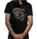 Johnny CASH: Guitar Text (T-SHIRT Unisex )