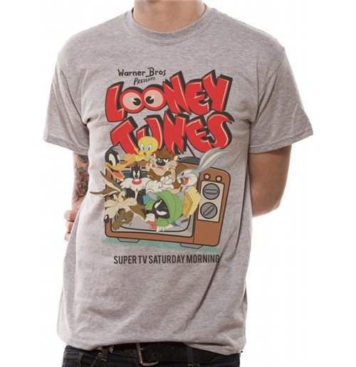 Looney TUNES: Retro Tv (T-SHIRT Unisex )