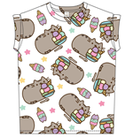 PUSHEEN: Ice Cream (T-SHIRT Donna )