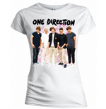 One DIRECTION: Flowers (T-SHIRT Donna )