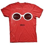 NIRVANA: Red Sunglasses (T-SHIRT Unisex )