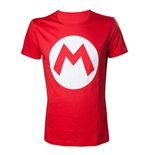 NINTENDO: Mario With Logo Red (T-SHIRT Unisex )