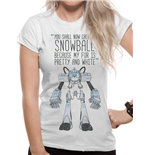 Rick And MORTY: Snowball (T-SHIRT Donna )