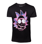Rick And MORTY: Neon Rick Black (T-SHIRT Unisex )