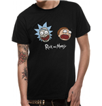 Rick And MORTY: Heads (T-SHIRT Unisex )