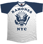 RAMONES: Retro Eagle (T-SHIRT Unisex )