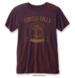 RAMONES: Forest Hills Blue Red (T-SHIRT Unisex )