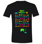 Space INVADERS: Multi Coloured (T-SHIRT Unisex )