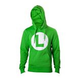 NINTENDO: Green With L Logo In Front (felpa Unisex )