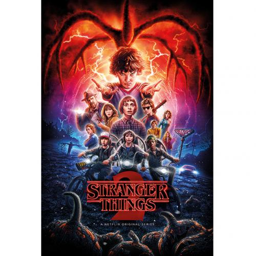 Poster Stranger Things<br>Stranger Things 2 Poster 185