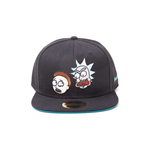 Rick And Morty: Characters Snapback Black (Cappellino)