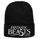 Fantastic Beasts: Logo Knitted Ski Hat (Berretto)