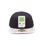 Nintendo: Gameboy Rubber Patch Snapback Multicolor (Cappellino)