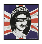 Toppa Sex Pistols - Design: God Save The Queen