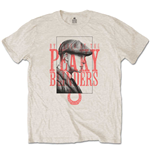 T-shirt Peaky Blinders da uomo - Design: Red Logo Tommy