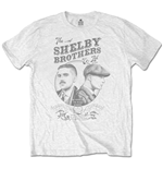 T-shirt Peaky Blinders da uomo - Design: Shelby Brothers Circle Faces