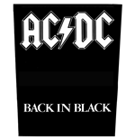 Toppa AC/DC - Design: Back in Black