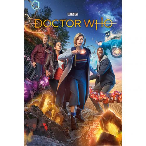 Poster Doctor Who <br>Doctor Who Poster Chaotic 260