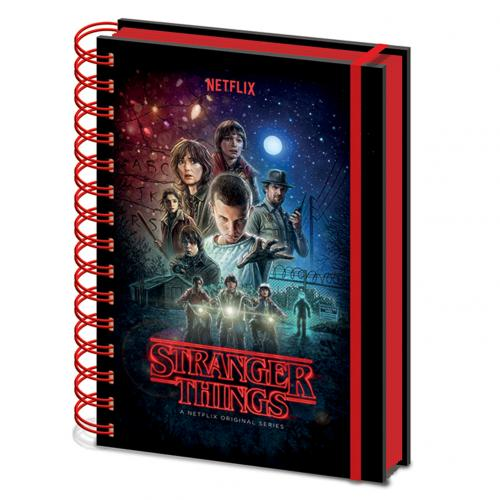 Block Notes Stranger Things <br>Stranger Things Notebook