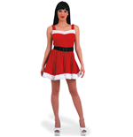 Carnival Toys 27030: Costume Natale Donna In Velluto T.U. (S-M)