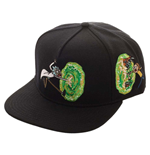 Rick And Morty: Portals Snapback (Cappellino)