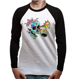 T-shirt Rick And Morty - Design: Skull Eyes