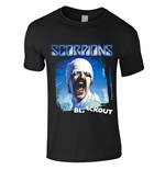 T-shirt Scorpions BLACKOUT