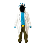 Costume da carnevale Rick And Morty RICK ONESIE