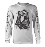 T-shirt The Nightmare Before Christmas JACK CROSSED ARMS SLEEVE