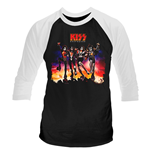 T-shirt Kiss DESTROYER
