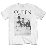 T-shirt Queen da uomo - Design: Stairs