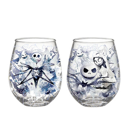 Set di bicchieri Nightmare before Christmas