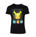 POKEMON: Pikachu And Friends Camo (T-SHIRT Unisex )