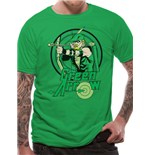 Green ARROW: All The Heroes Circle (T-SHIRT Unisex )