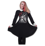 Spiral - Dead Kiss - Peterpan Collar Baby Doll (vestito Donna )