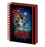Stranger Things: One Sheet A5 Metallic Notebook (Quaderno)