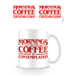 Stranger Things - Coffee And Contemplation Mug (Tazza)