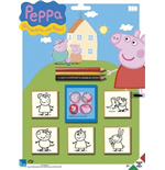 Blister 5 Timbri - Peppa Pig