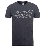 Dc COMICS: Originals Flash Crackle Logo (T-SHIRT Unisex TG. 2)