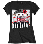 5 Seconds Of SUMMER: Album Cover 1 (T-SHIRT Donna )