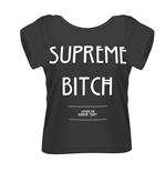 American Horror STORY: Supreme Bitch (T-SHIRT Donna )