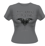 Game Of THRONES: All Men Must Die (T-SHIRT Donna )
