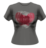 Fall Out BOY: Weathered Hearts (T-SHIRT Donna )