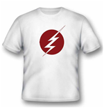 Dc COMICS: FLASH: Lightning Logo (T-SHIRT Unisex )